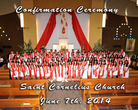 St. Cornelius 2014 Receiving Confirmation